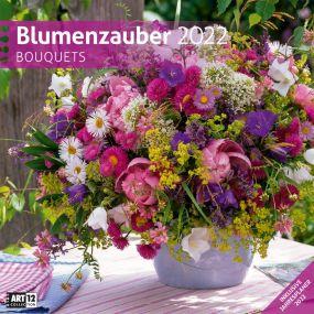 Kalender Blumenzauber 2021 als Werbeartikel