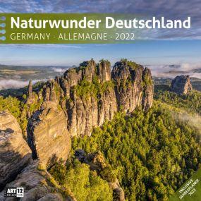 Kalender Naturwunder Deutschland 2021 als Werbeartikel