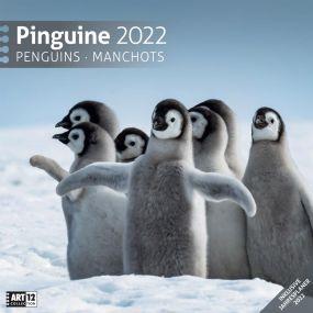 Kalender Pinguine 2021 als Werbeartikel