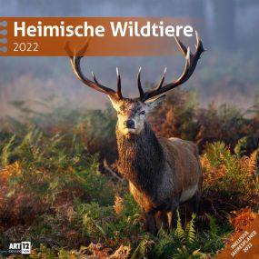 Kalender Heimische Wildtiere 2021 als Werbeartikel