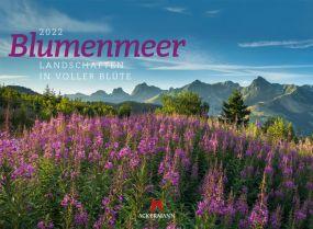Kalender Blumenmeer 2021 als Werbeartikel
