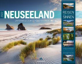 Kalender Neuseeland 2021 als Werbeartikel