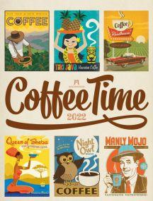 Kalender Coffee Time 2021 als Werbeartikel