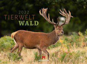 Kalender Tierwelt Wald 2021 als Werbeartikel