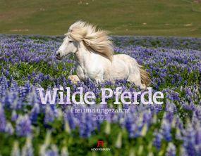 Kalender Wilde Pferde 2021 als Werbeartikel
