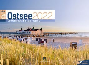Kalender Ostsee ReiseLust 2021 als Werbeartikel