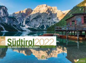 Kalender Südtirol ReiseLust 2021 als Werbeartikel