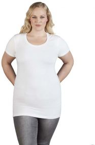 Promodoro Damen T-Shirt Slim Fit Lang als Werbeartikel