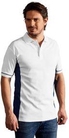 Promodoro Herren Funktion Poloshirt Contrast als Werbeartikel