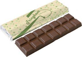 Schokoladentafel 75g mit Recycling Verpackung