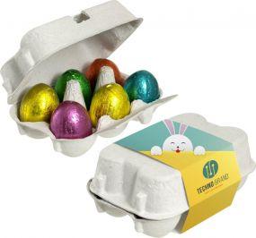 Eierschachtel Ostereier