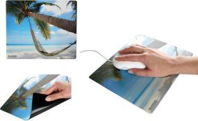 Mousepad Form Square 1 als Werbeartikel
