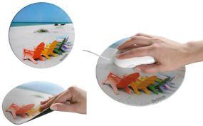 Mousepad Form Circle 1 als Werbeartikel