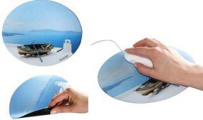 Mousepad Form Oval als Werbeartikel