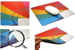 Mousepad mit Visitenkarten-Einschub No. 3
