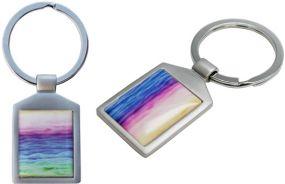 Schlüsselanhänger Square als Werbeartikel als Werbeartikel