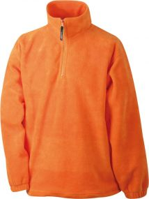 Fleece-Sweatshirt als Werbeartikel