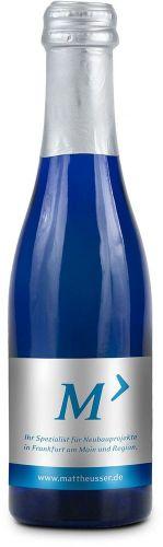 Promo Secco Piccolo Flasche blau
