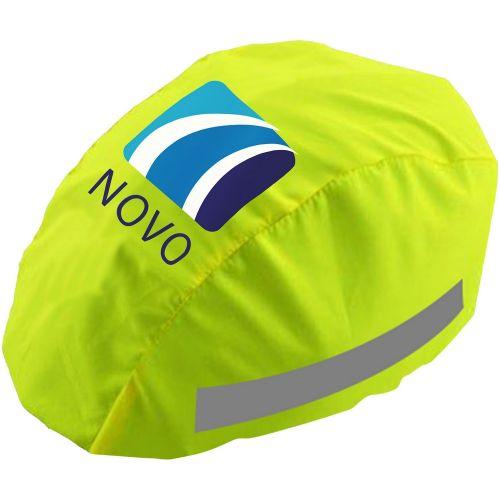 Reflektierender Helmbezug Standardausführung als Werbeartikel