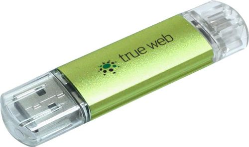 USB-Stick Silicon Valley On-the-Go als Werbeartikel