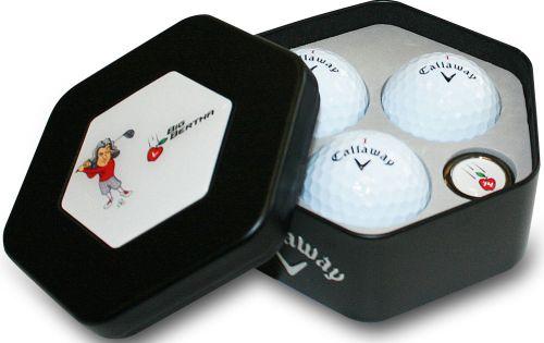 Callaway 3-Bälle Box als Werbeartikel