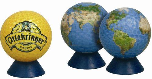 Golfbälle in Wunsch-Farben als Werbeartikel