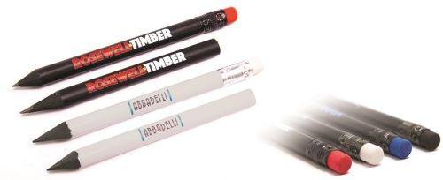 Bleistift mit Radiergummi als Werbeartikel