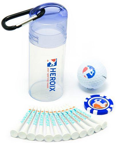 Golfball Geschenkset 6 als Werbeartikel
