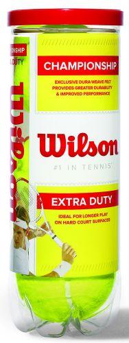 Wilson Championship Tennisbälle in 3-Ball-Tube als Werbeartikel