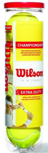 Wilson Championship Tennisbälle in 4-Ball-Tube als Werbeartikel