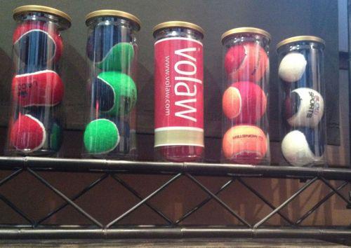 Smash 2 Pressureless Tennisball als Werbeartikel