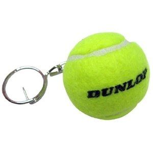 Mini Tennisball Schlüsselanhänger Dunlop als Werbeartikel