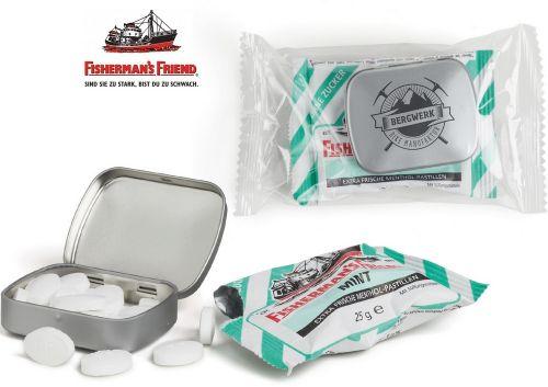 Pfefferminz Fisherman´s Friend Combi Pack (Mini Nostalgiedose) als Werbeartikel