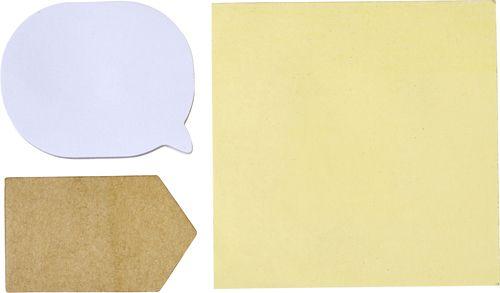 Haftnotiz-Set Popular in PVC-Etui als Werbeartikel