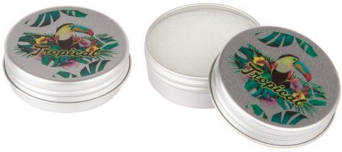 LipJar Alu - Lippenpflege im Aluminium-Döschen mit 4c Digitaldruck als Werbeartikel