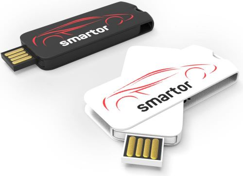USB Stick Smart Twister Large 2.0 als Werbeartikel