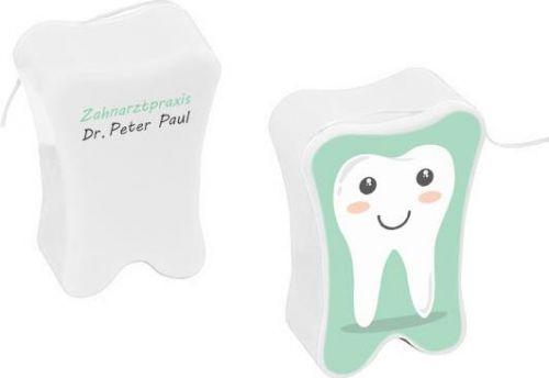 Zahnseide als Werbeartikel