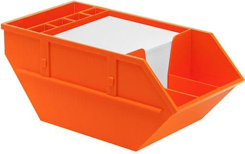 Zettelbox Container als Werbeartikel