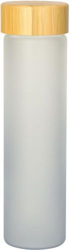 Glasflasche Frosted 0,6 l als Werbeartikel