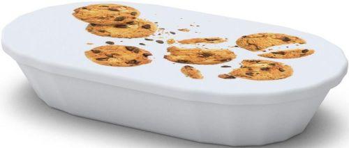 Snackschale Imbiss, mit Deckel als Werbeartikel