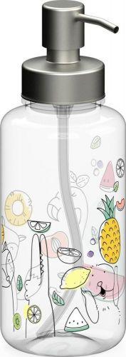 Seifenspender Superior 0,7 l, klar-transparent als Werbeartikel