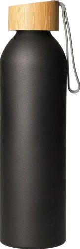 Aluminiumflasche Bamboo 0,6 l als Werbeartikel