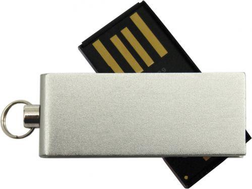 Memory-Stick Micro Twist, verschiedene Kapazitäten, USB 2.0 als Werbeartikel