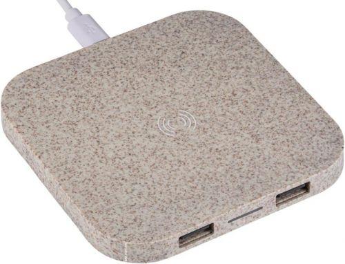 Wireless charging station Gilbert als Werbeartikel