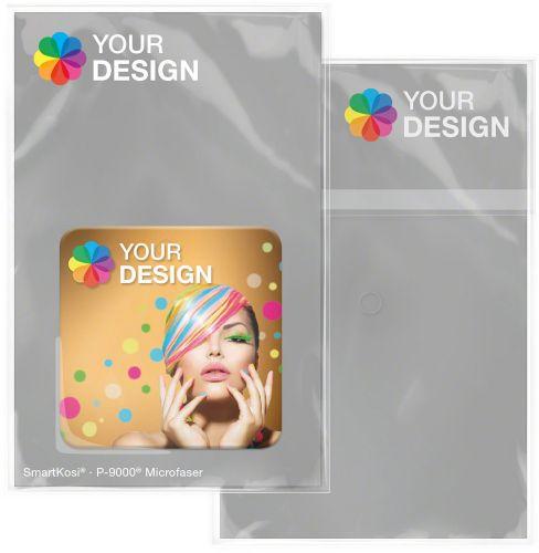 SmartKosi® Display-Cleaner 4,0x4,0 cm - 2 Wochen Lieferzeit als Werbeartikel