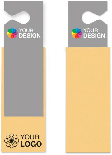Auto- und Fenstertuch 40x35 cm mit individueller Karte als Werbeartikel