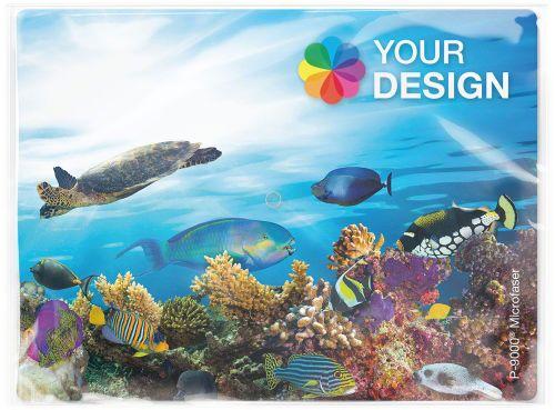 POLYCLEAN Displaytuch 24x18 cm im Polybeutel als Werbeartikel