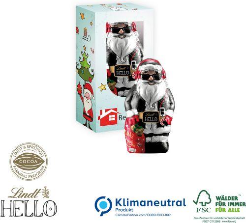 HELLO Xmas Santa, Mini als Werbeartikel