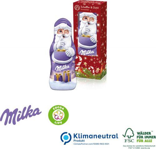 Milka Weihnachtsmann, 15 g als Werbeartikel