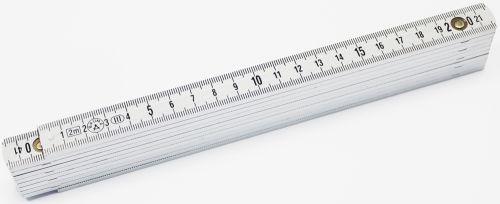 B830 Kunststoffmaßstab 2m als Werbeartikel